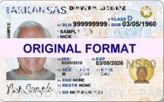 Arkansas scannable fake id fake driving license fake state id driver license