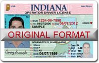 Indiana Fake ID