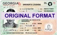 Georgia fake id scannable fake identity driving license state id fake ids fake identification