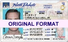 NORTH DAKOTA DRIVER LICENSE ORIGINAL FORMAT, DESIGN SPECIFICATIONS, NOVELTY SECURITY CARD PROFILES, IDENTITY, NEW SOFTWARE ID SOFTWARE NORTH DAKOTA driver