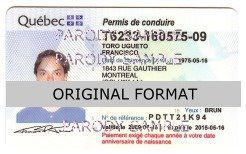 Quebec Fake Drivers License Fake Id Quebec