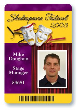 STAGE PASS DRIVER LICENSE ORIGINAL FORMAT, DESIGN SPECIFICATIONS, NOVELTY SECURITY CARD PROFILES, IDENTITY, NEW SOFTWARE ID SOFTWARE